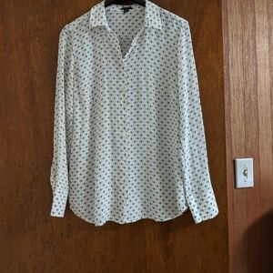 Ann Taylor Silk Button-up Shirt